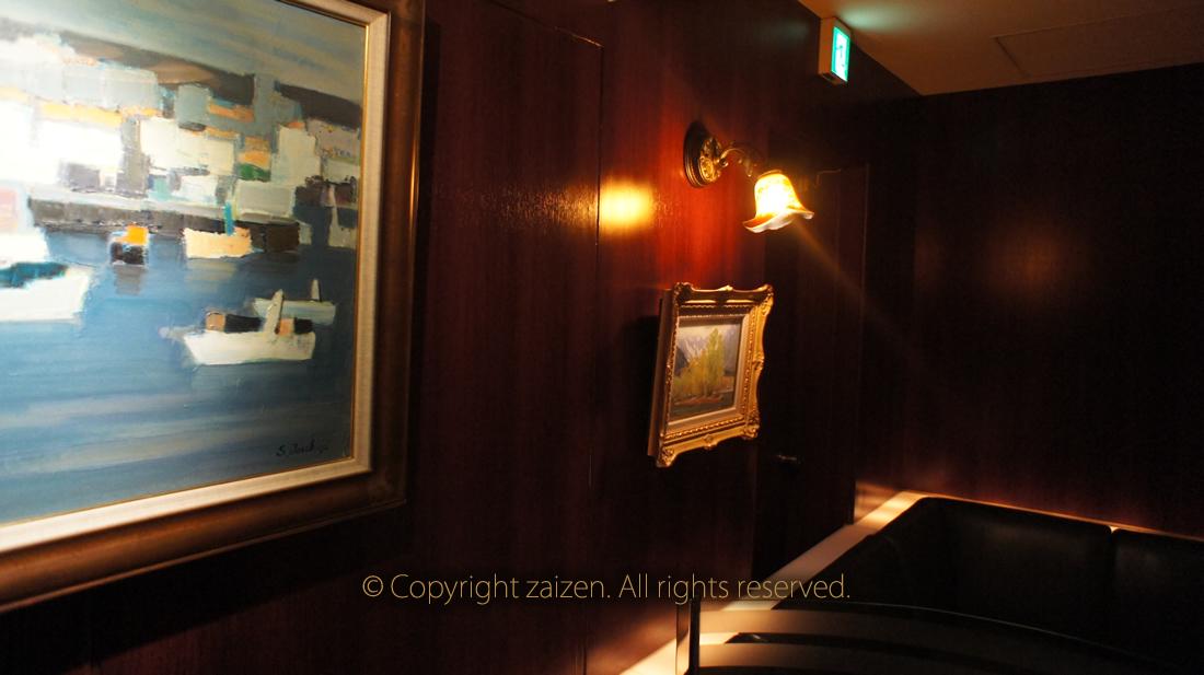 銀座高級クラブ泉(せん)店内写真