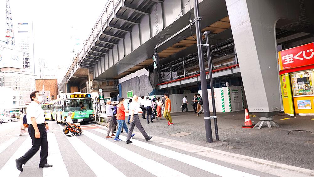 銀座・新橋駅